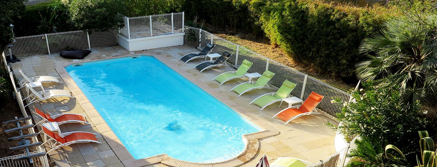 Notre piscine est <strong>ouverte </strong>