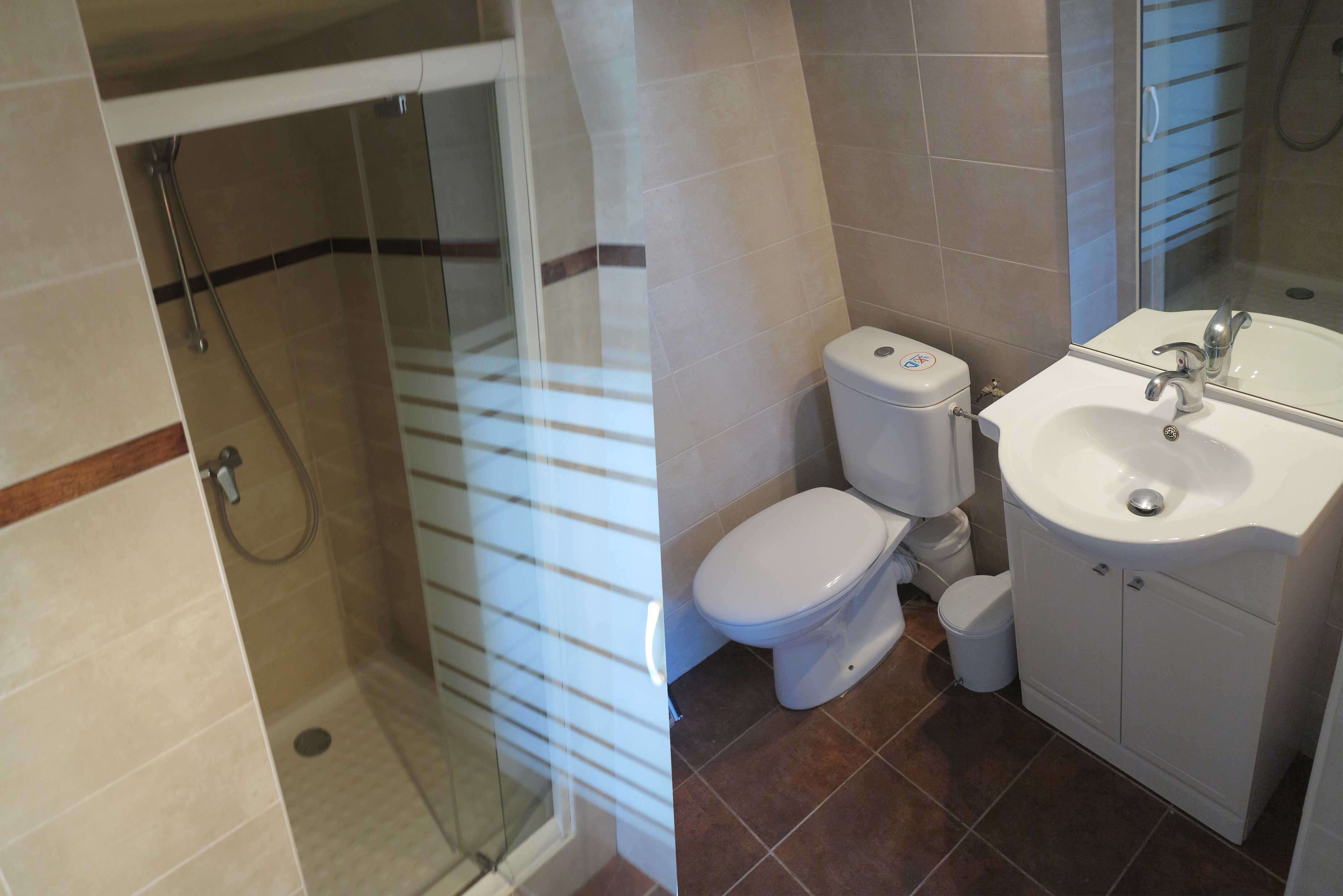 appartement location salle de bain