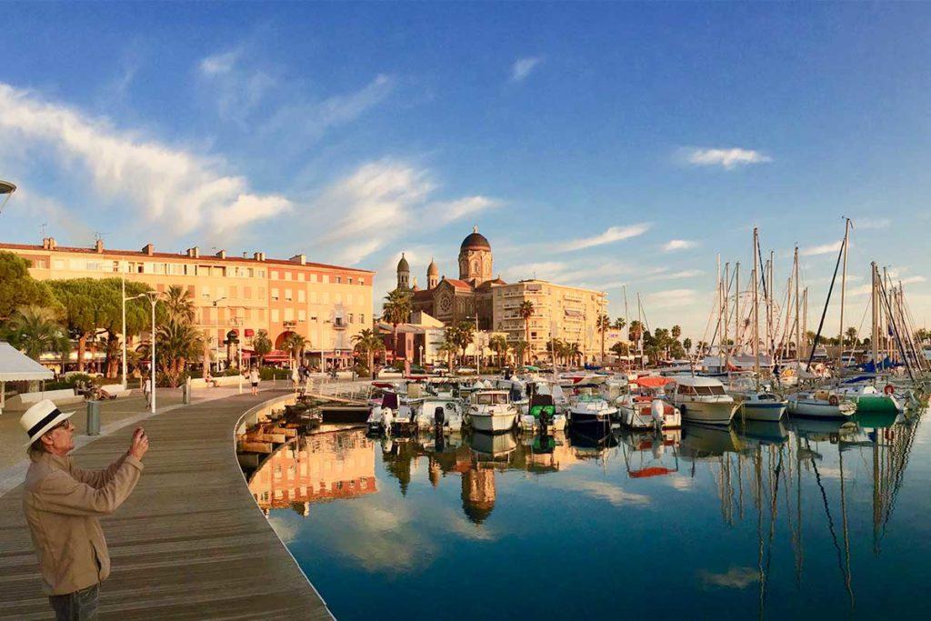 Le port de plaisance de Saint Raphaël