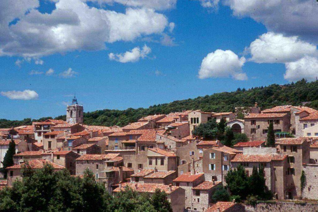 Mons village cote d'azur