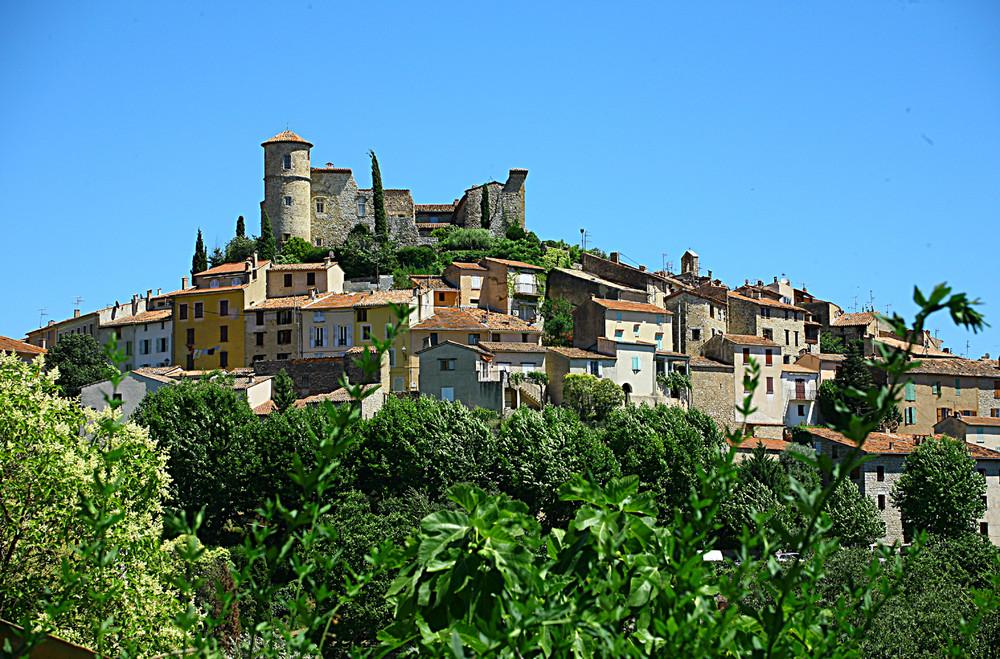 caillan en provence village cote d'azur